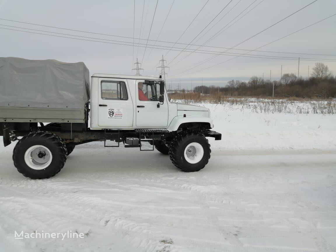 nový obojživelné terénne vozidlo GAZ Snegobolotohod 33088 Sadko  Nekst