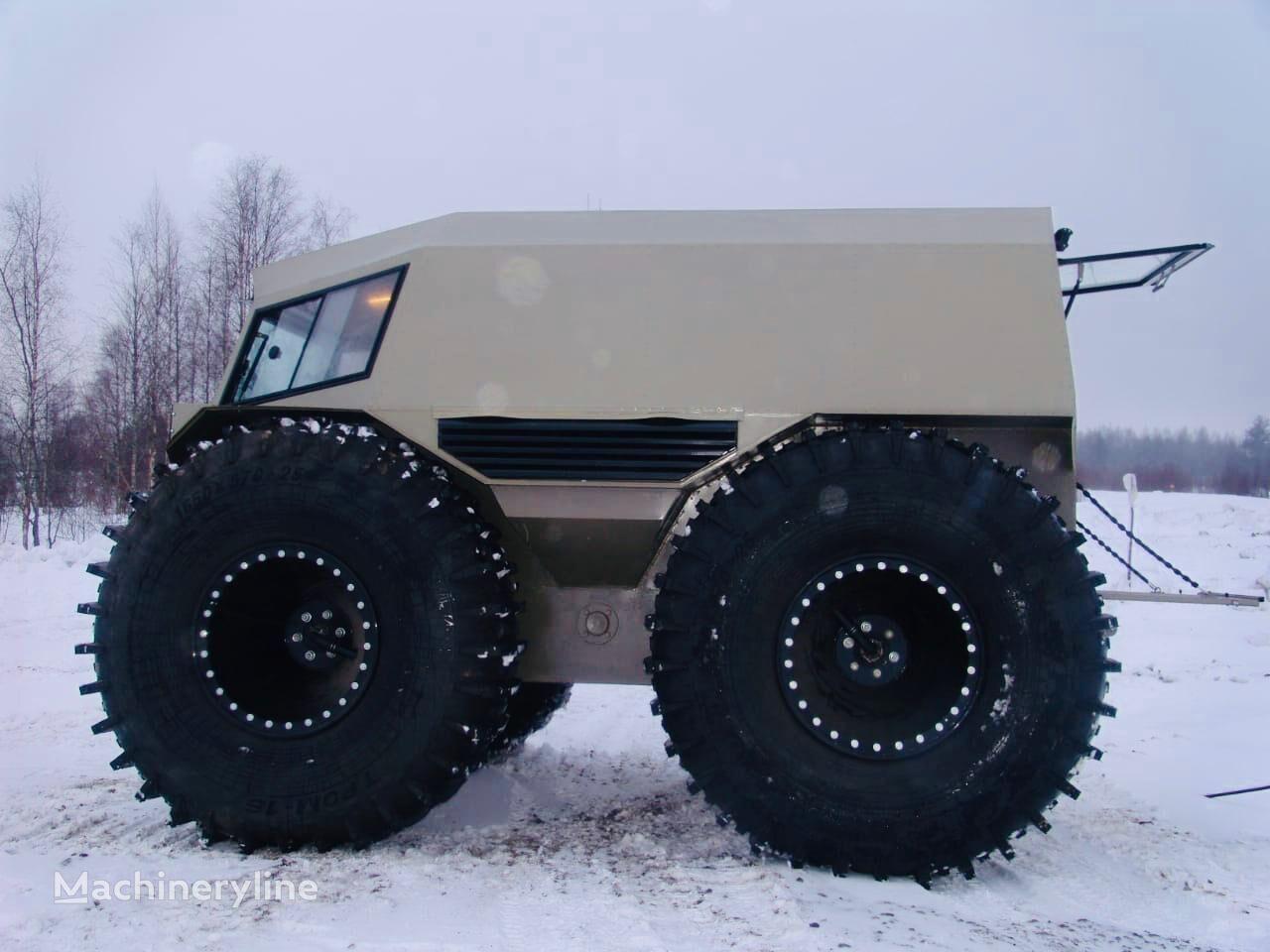 obojživelné terénne vozidlo Test Taifun-1650 ATV