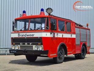 požiarne auto DAF G 1600 DF 325 Oldtimer, Museum - Kronenburg Brandweer, fire, feu