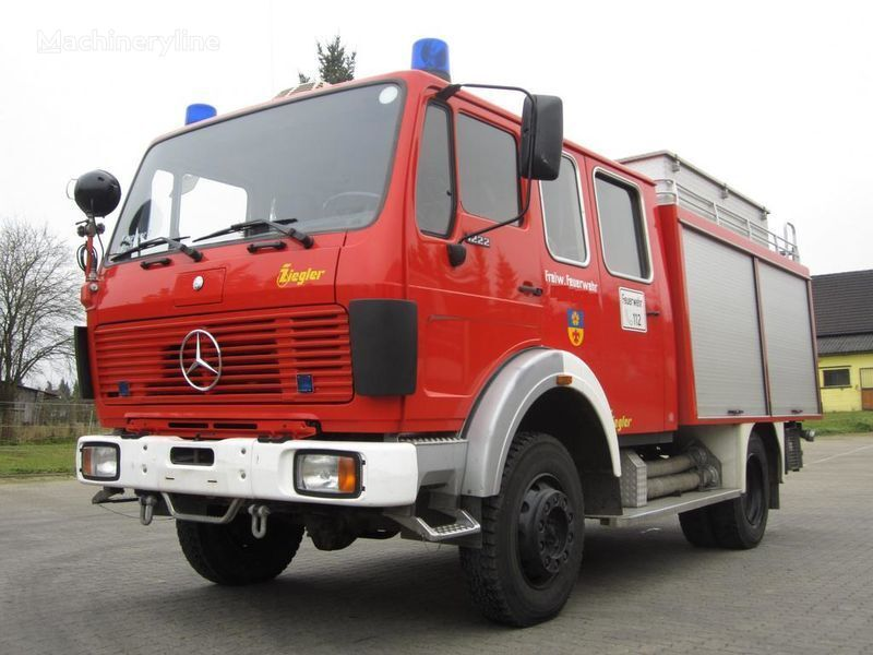 požiarne auto MERCEDES-BENZ 1222 AF