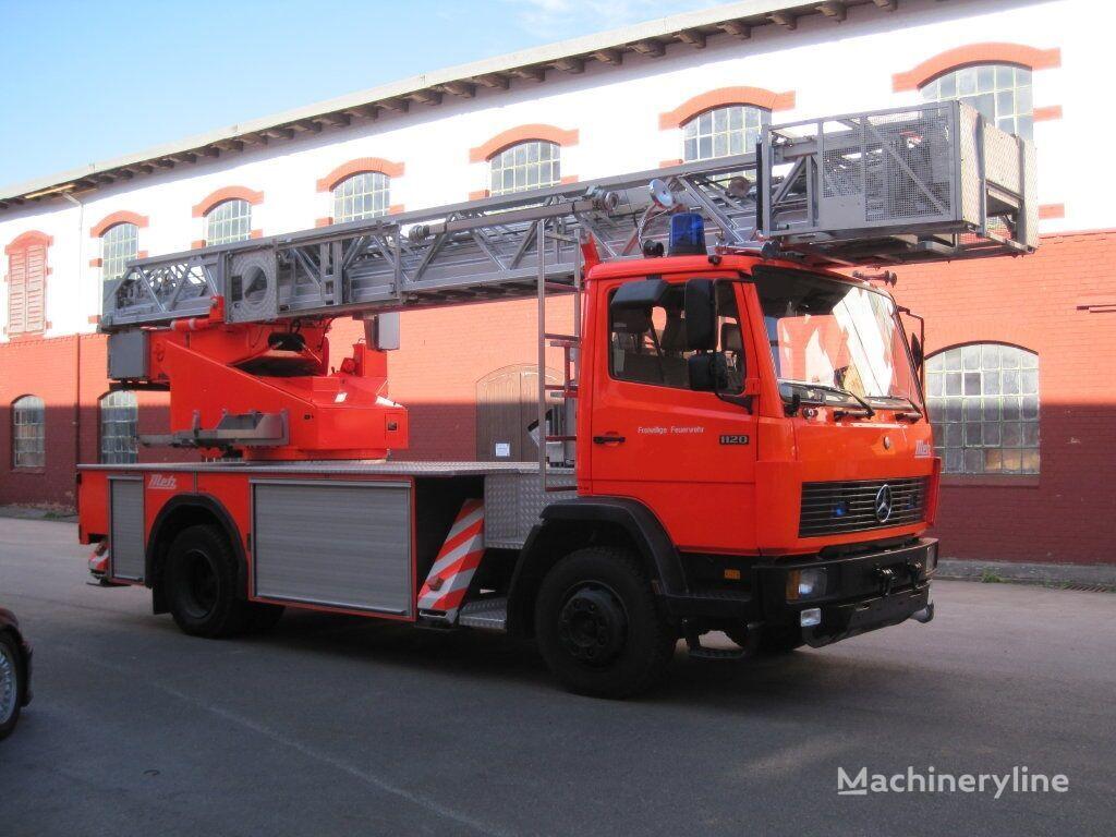 požiarny automobilový rebrík MERCEDES-BENZ 1120 F