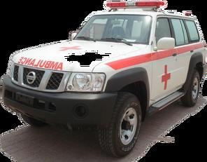 nový sanitka NISSAN Patrol 4.0 XE AT