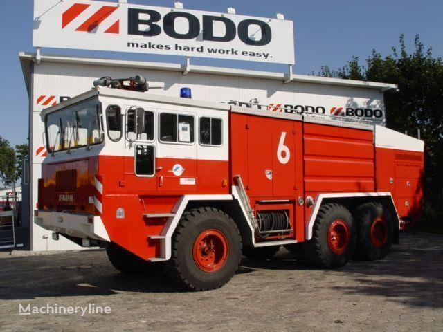 letiskové požiarne auto FAUN 6x6