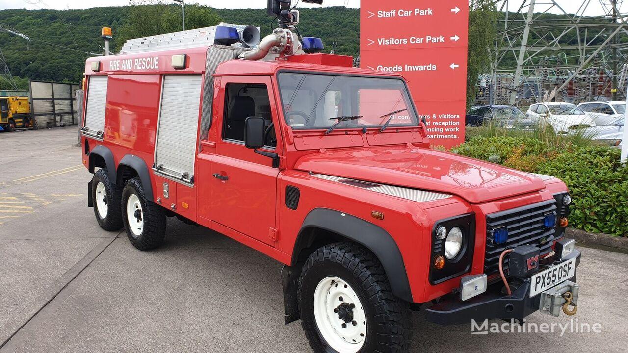 letiskové požiarne auto Land Rover 6x6
