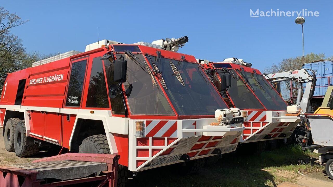 letiskové požiarne auto MERCEDES-BENZ Rosenbauer Simba 12000