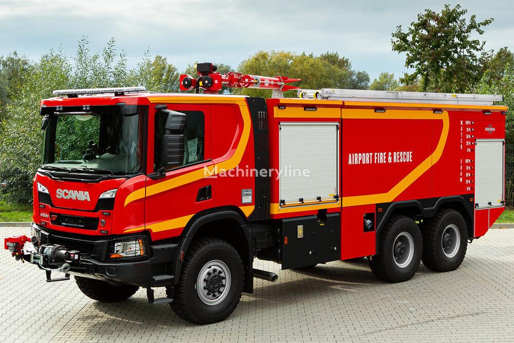 nové letiskové požiarne auto Oshkosh 6x6 ARV