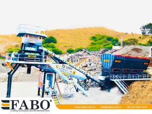 nový betonáreň FABO  COMPACT-110 CONCRETE PLANT   CONVEYOR TYPE