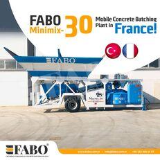nový betonáreň FABO MINIMIX-30M3/H MINI CENTRALE A BETON MOBILE