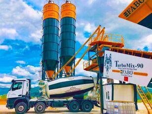 nový betonáreň FABO TURBOMIX-90 MOBILE CONCRETE PLANT HIGH QUALITY 90 M3/H