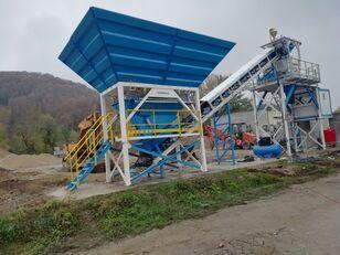 nový betonáreň PROMAX Compact Concrete Batching Plant C60-SNG-PLUS (60m3/h)