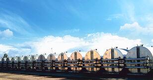nové betonové silo MARINI tankFALT - система термоизолированных резервуаров и трубопроводо