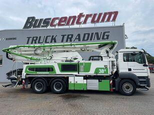 čerpadlo na betón Putzmeister BSF 38-5.16 HLS na podvozku MAN TGS 26.400 6x4 Putzmeister 38-5 m / Top Pump / German Truck