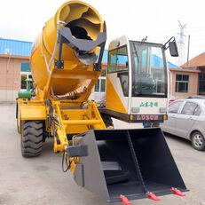 nový kolesové rýpadlo LUZUN selfloading concrete mixer