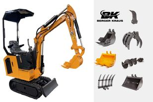 nové minirýpadlo BERGER KRAUS Mini Excavator BK800B with FULL equipment