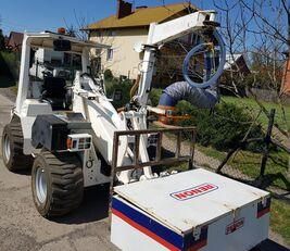 strojové kladenie betónových dlažieb OPTIMAS PROBST UNIPOSE  ładowarka,  ukladarka do kraweników, widły