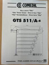 vežový žeriav COMEDIL GTS 511